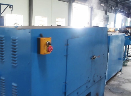 Welding wire production