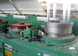 Normal stainless steel wire production process