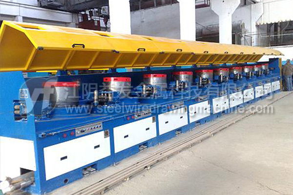 How to realize the industrial energy saving of inverted wire drawing machine?